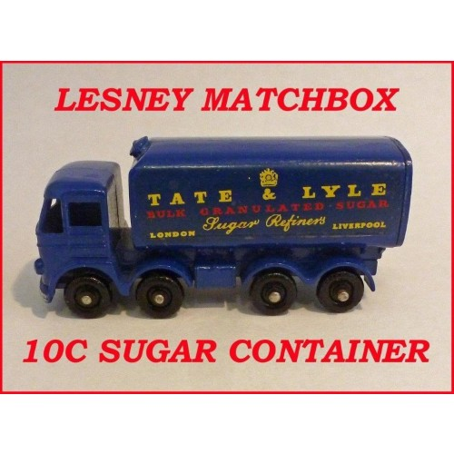 Matchbox Toys MB10c Foden Sugar Container