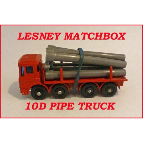 Matchbox Toys MB10d Leyland Pipe Truck
