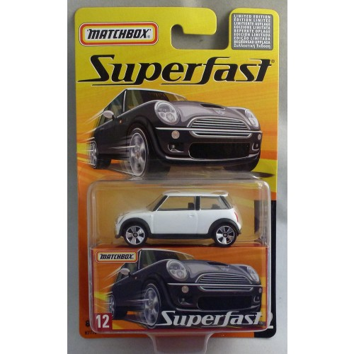 Matchbox Superfast MB12 Mini Cooper S White
