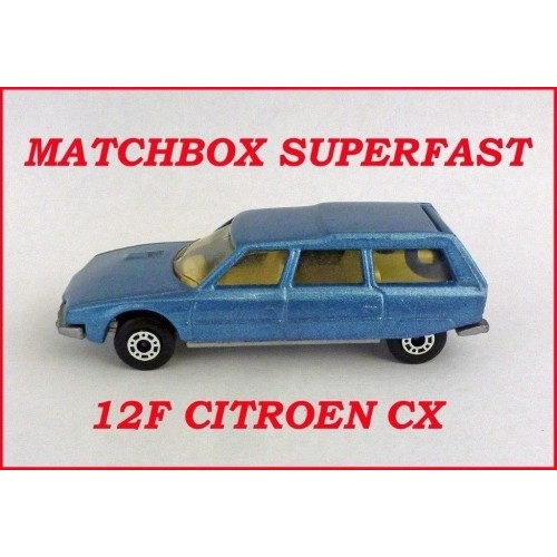 Matchbox Superfast MB12f Citroen CX