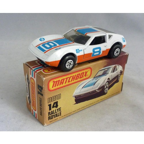 Matchbox Superfast MB14 Monterverdi Rallye Royale