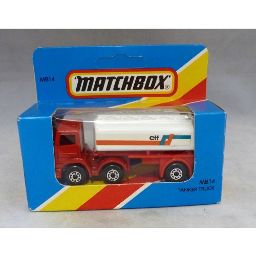 Lesney Matchbox Blue Box MB14f Tanker Truck