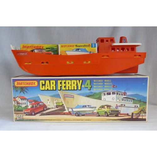 Matchbox Superfast G-17 Car Ferry Gift Set
