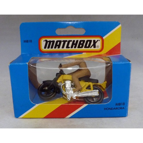 Lesney Matchbox Blue Box MB18f Hondarora