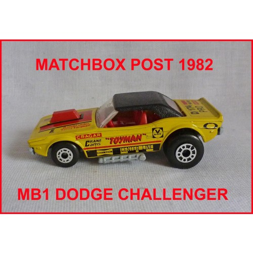 Matchbox MB1 Dodge Challenger