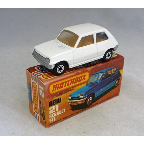 Matchbox Superfast MB21f Renault 5TL PRE PRODUCTION Model