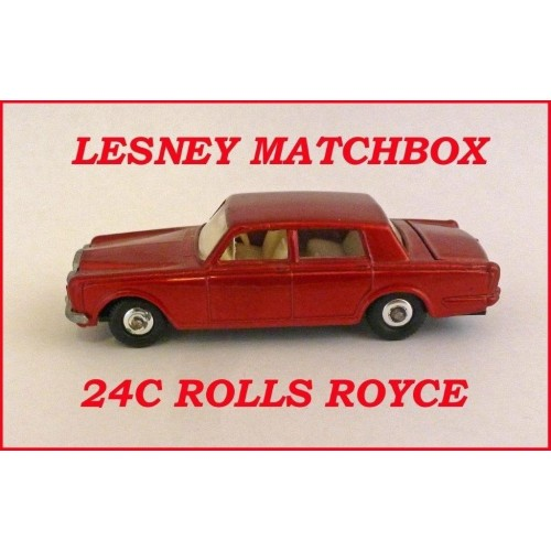 Matchbox Toys MB24c Rolls Royce Silver Shadow