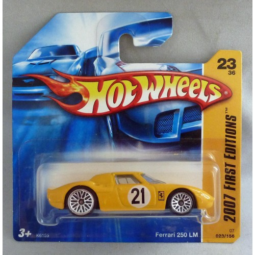 HotWheels Ferrari 250 LM Yellow 2007 First Editions