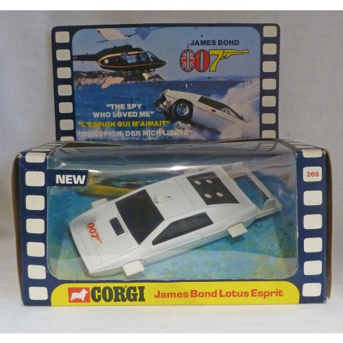 Corgi Toys 269 James Bond 007 Lotus Esprit