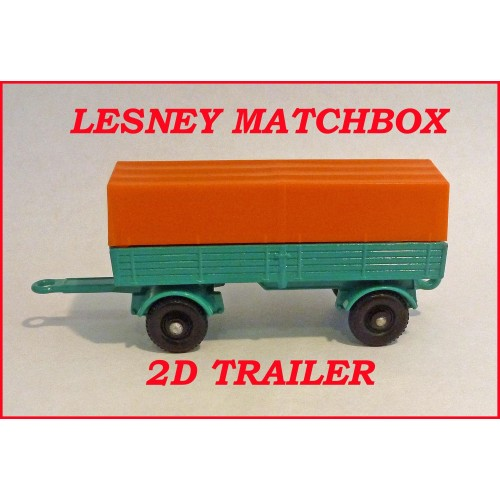 Matchbox Toys MB2d Mercedes Trailer