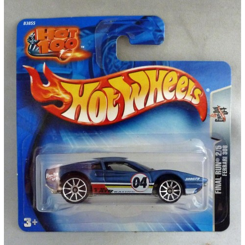 HotWheels Ferrari 308 Blue Final Run 2/5