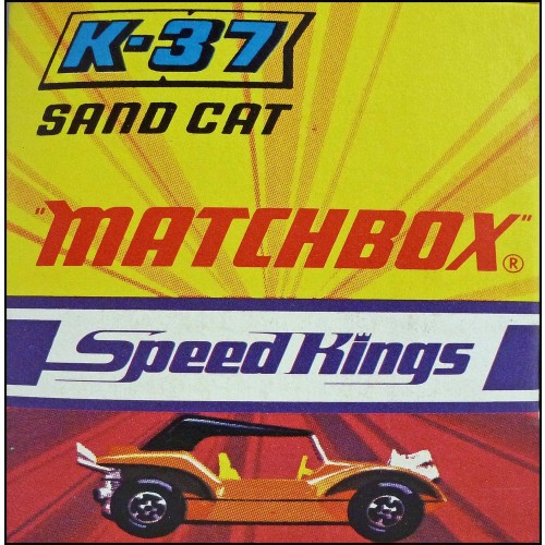 Matchbox Speed Kings K-37 Sand Cat