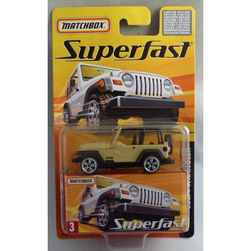 Matchbox Superfast MB3 Jeep Wrangler Tan
