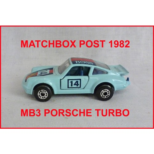 Matchbox MB3 Porsche Turbo