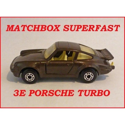 Matchbox Superfast MB3e Porsche Turbo