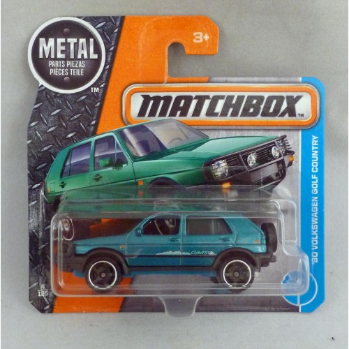 Matchbox MB4 '90 Volkswagen Golf Country Turquoise