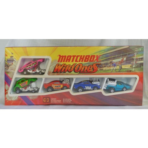 Matchbox Superfast G-3 Superfast Wild Ones Dragster Gift Set