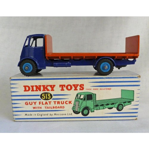 Dinky Toys 513 Guy Flat Truck with Tailboard