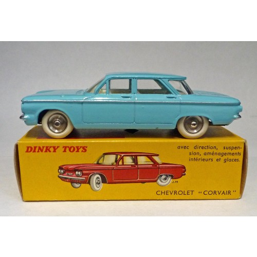 French Dinky Toys 552 Chevrolet Corvair Blue