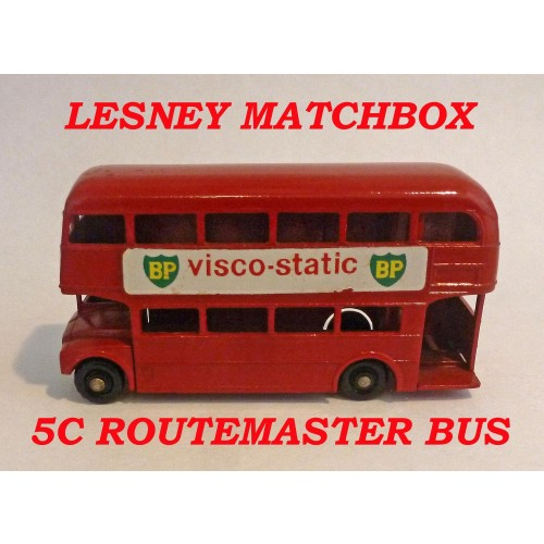 Lesney Matchbox Toys MB5c Routemaster Bus