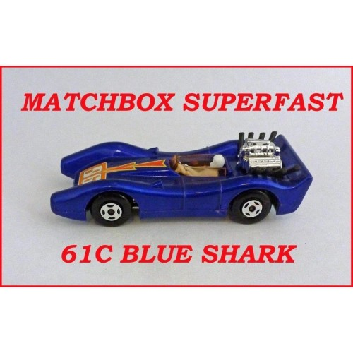 Matchbox Superfast MB61c Blue Shark