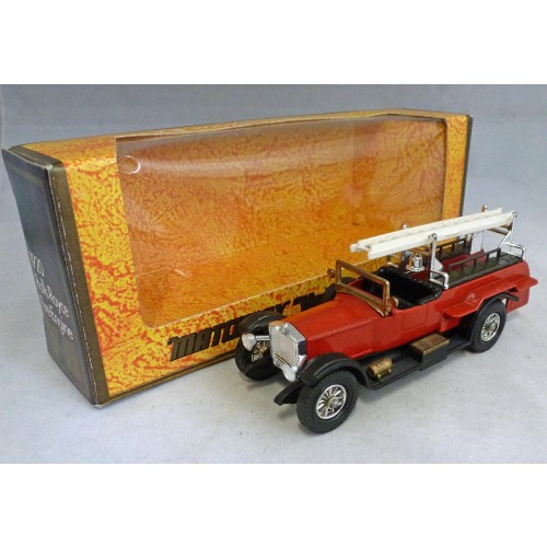Matchbox Models of Yesteryear Y-6d Rolls Royce Fire Engine PRE PRODUCTION Model