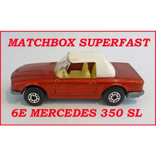 Matchbox Superfast MB6e Mercedes 350 SL