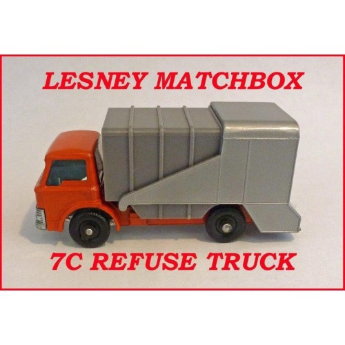 Matchbox Toys MB7c Ford Refuse Truck