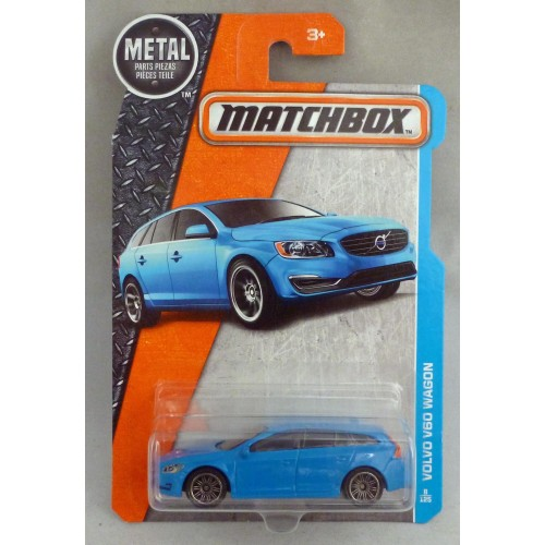 Matchbox MB8 Volvo V60 Wagon Blue