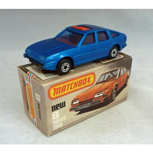 Matchbox Superfast MB8h Rover 3500 PRE PRODUCTION Model BLUE