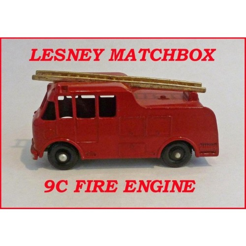 Matchbox Toys MB9c Merryweather Fire Engine