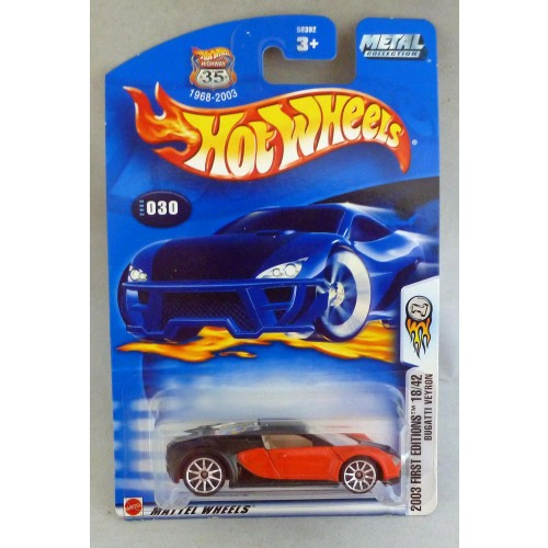 HotWheels Bugatti Veyron 2003 First Editions