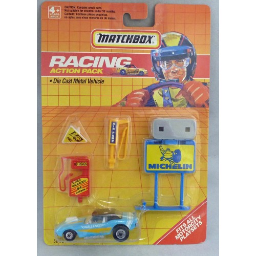 Matchbox Racing Action Pack MB1 Dodge Challenger