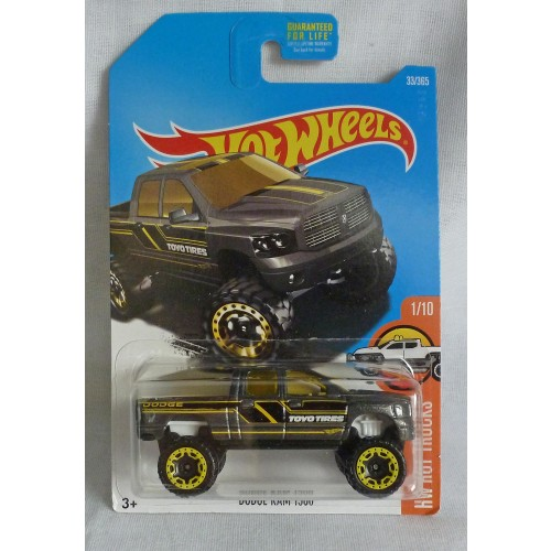 "HotWheels Dodge Ram 1500 Grey ""HW Hot Trucks"" 1/10"