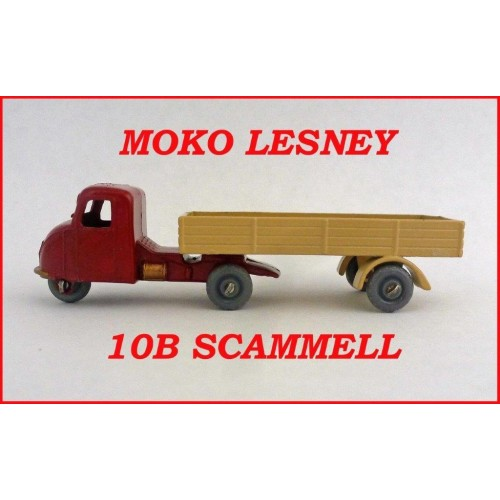 Moko Lesney Matchbox MB10b Scammell Mechanical Horse