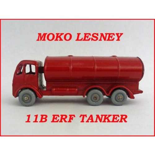 Moko Lesney Matchbox MB11b ERF Road Tanker