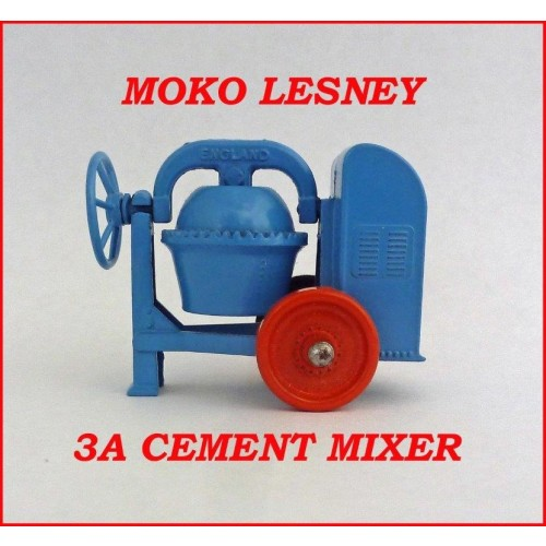 Moko Lesney Matchbox MB3a Cement Mixer
