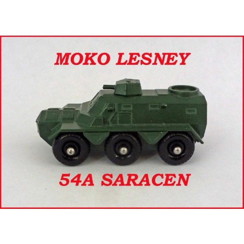 Lesney Matchbox Toys MB54 Saracen Personal Carrier 54a