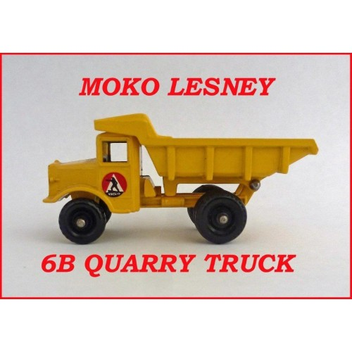 Moko Lesney Matchbox MB6 Quarry Truck 6b