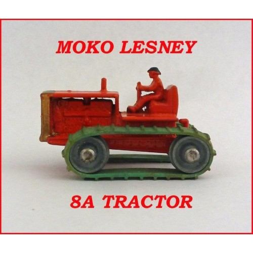 Moko Lesney Matchbox MB8a Caterpillar Tractor