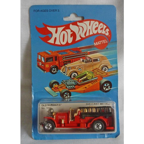 HotWheels Old Number 5 Fire Engine
