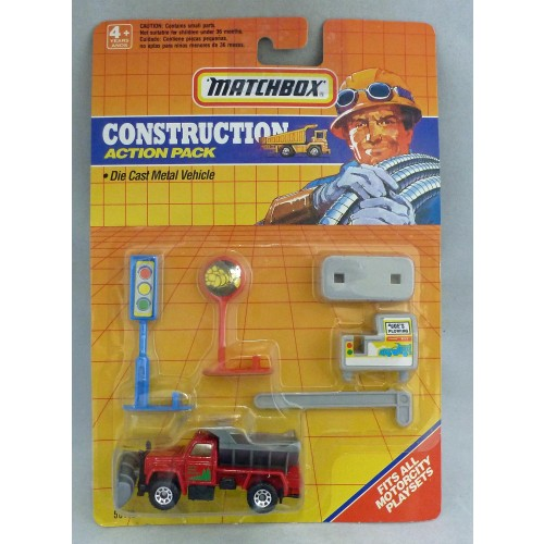 Matchbox Construction Action Pack MB45 Maintenance Truck