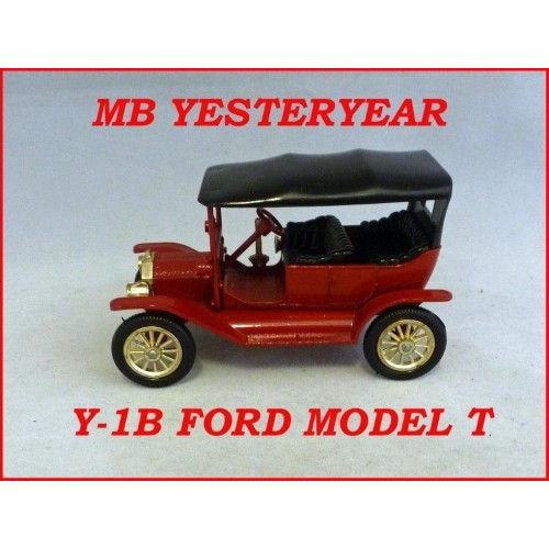Matchbox Models Of Yesteryear Y-1B Model T Ford