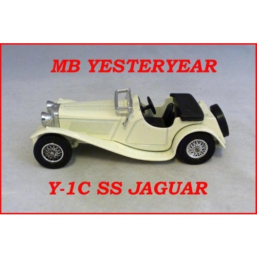 Matchbox Models Of Yesteryear Y-1C Jaguar SS 100