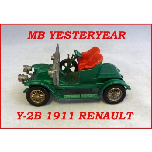 Matchbox Models Of Yesteryear Y-2B 1911 Renault