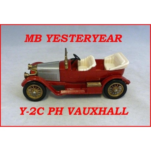 Matchbox Models Of Yesteryear Y-2C Prince Henry Vauxhall