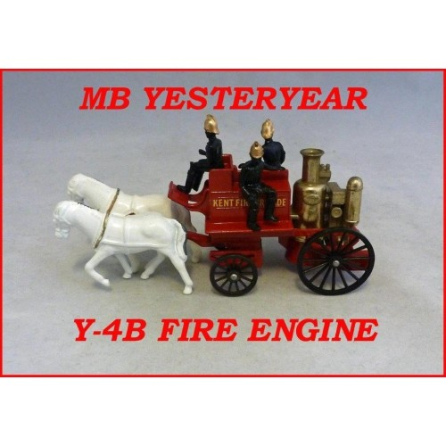 Matchbox Models Of Yesteryear Y-4B Shand Mason Horse Drawn Fire Engine