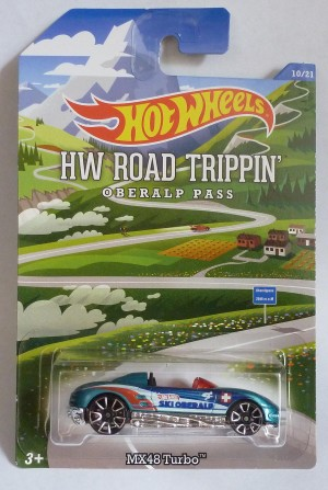 HotWheels HW Road Trippin' Mazda MX48 Turbo 10/21