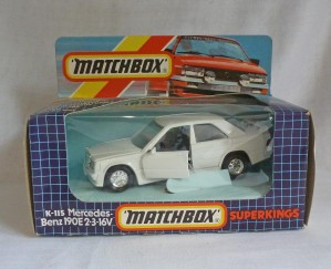 Matchbox SuperKings K-115 Mercedes Benz 190E