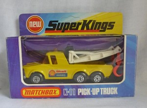 "Matchbox SuperKings K-11 Pick Up Truck ""Shell Recovery"""